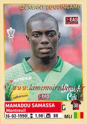 2014-15 - Panini Ligue 1 Stickers - N° 101 - Mamadou SAMASSA (EA Guingamp)