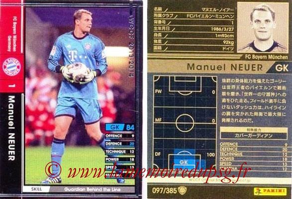 2013-14 - WCCF - N° 097 - Manuel NEUER (FC Bayern Munich)