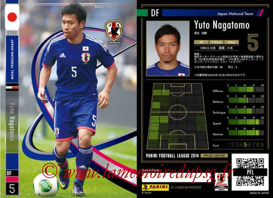 Panini Football League 2014 - PFL06 - N° 125 - Yuto NAGATOMO (Japon) (Star)