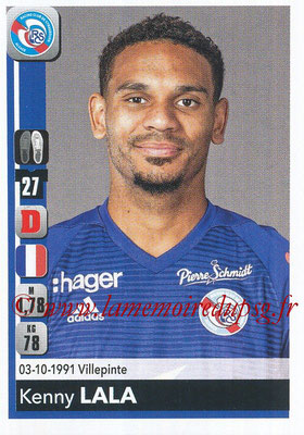2018-19 - Panini Ligue 1 Stickers - N° 455 - Kenny LALA (Strasbourg)