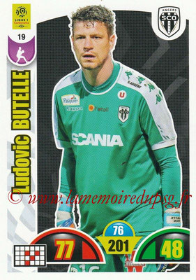 2018-19 - Panini Adrenalyn XL Ligue 1 - N° 019 - Ludovic BUTELLE (Angers)