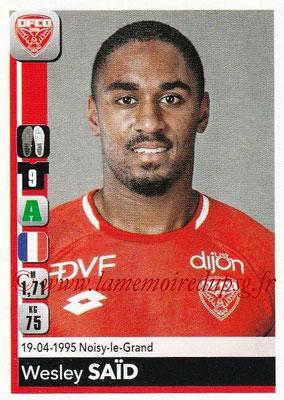2018-19 - Panini Ligue 1 Stickers - N° 120 - Wesley SAÏD (Dijon)
