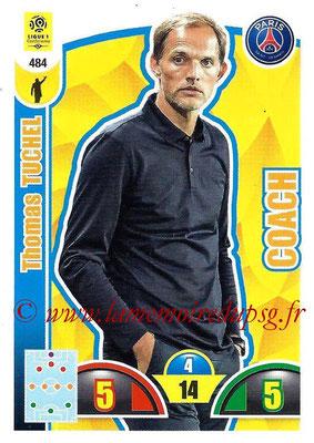 2018-19 - Panini Adrenalyn XL Ligue 1 - N° 484 - Thomas TUCHEL (Paris Saint-Germain) (Coach)
