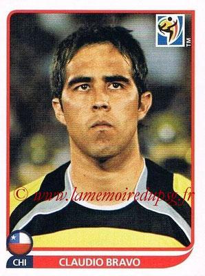 2010 - Panini FIFA World Cup South Africa Stickers - N° 621 - Claudio BRAVO (Chili)