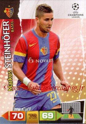 2011-12 - Panini Champions League Cards - N° 040 - Markus STEINHOFER (FC Bâle)