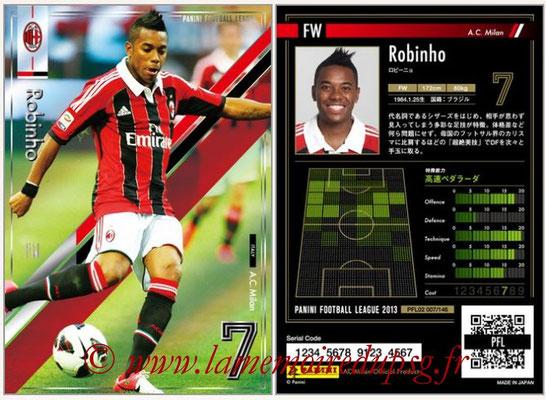Panini Football League 2013 - PFL02 - N° 007 - Robinho ( A.C. Milan )
