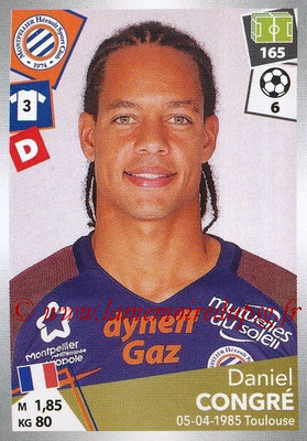 2017-18 - Panini Ligue 1 Stickers - N° 289 - Daniel CONGRE (Montpellier)