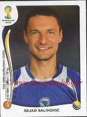 2014 - Panini FIFA World Cup Brazil Stickers - N° 445 - Sejad SALIHOVIC (Bosnie Herzegovine)