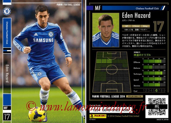 Panini Football League 2014 - PFL08 - N° 066 - Eden HAZARD (Chelsea FC)