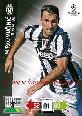 2012-13 - Adrenalyn XL champions League N° 118 - Mirko VICINIC (Juventus FC)