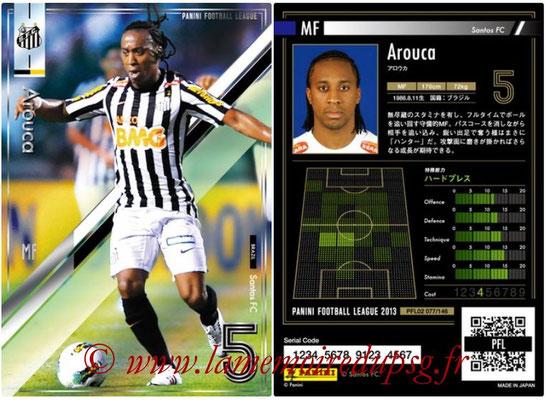 Panini Football League 2013 - PFL02 - N° 077 - Arouca ( Santos FC )