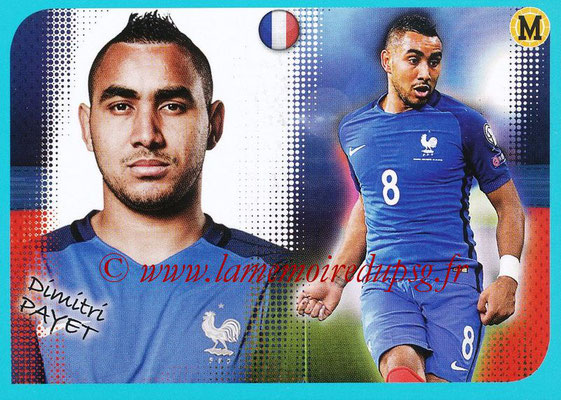 2016-17 - Panini Ligue 1 Stickers - N° P12 - Dimitri PAYET (Poster Equipe de France)