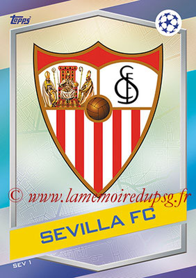 2016-17 - Topps UEFA Champions League Match Attax - N° SEV1 - Logo FC Seville