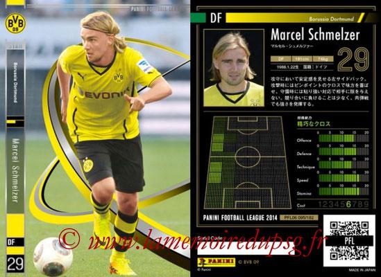 Panini Football League 2014 - PFL06 - N° 095 - Marcel SCHMELZER (Borussia Dortmund) (Star)