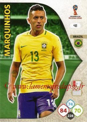 N° 041 - MARQUINHOS (2013-??, PSG > 2018, Brésil)