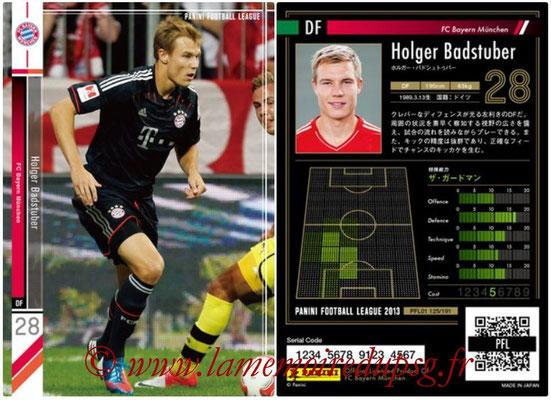 Panini Football League 2013 - PFL01 - N° 125 - Holger Badstuber ( FC Bayern Munchen )