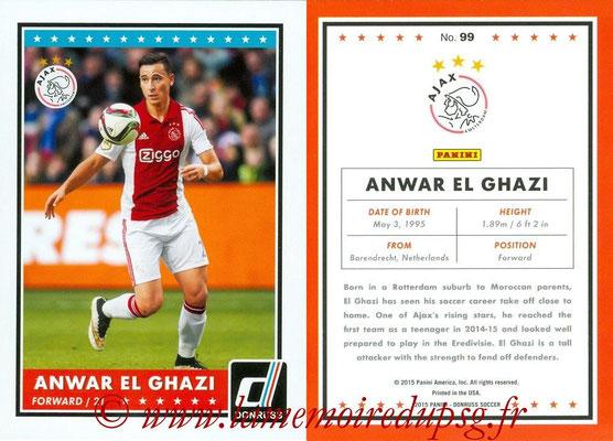 2015 - Panini Donruss Soccer - N° 099 - Anwar EL GHAZI (AFC Ajax)