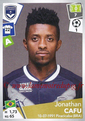 2017-18 - Panini Ligue 1 Stickers - N° 067 - Jonathan CAFU (Bordeaux)