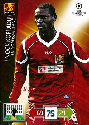2012-13 - Adrenalyn XL champions League N° 178 - Enock KOFI ADU (FC Nordsjaelland)