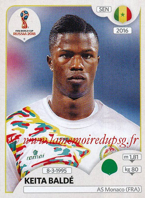 2018 - Panini FIFA World Cup Russia Stickers - N° 628 - Keita BALDE (Senegal)