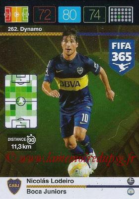 2015-16 - Panini Adrenalyn XL FIFA 365 - N° 262 - Nicolas LODEIRO (Boca Juniors) (Dynamo)