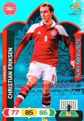 Panini Euro 2012 Cards Adrenalyn XL - N° 243 - Christian ERIKSEN (Dannemark) (Fans' Favourite)