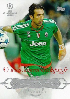 2015-16 - Topps UEFA Champions League Showcase Soccer - N° BB-GBU - Gianluigi BUFFON (Juventus FC) (Best of the Best)