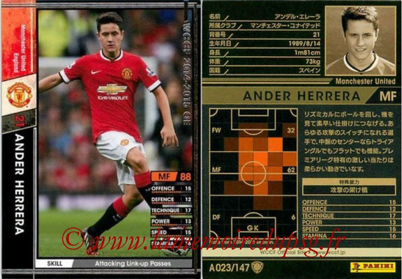 2014-15 - WCCF - N° A023 - Ander HERRERA (Manchester United FC)