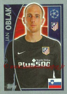 2015-16 - Topps UEFA Champions League Stickers - N° 177 - Jan OBLAK (Club Atlético de Madrid)