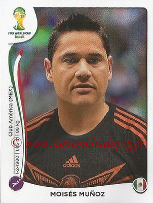 2014 - Panini FIFA World Cup Brazil Stickers - N° 088 - Moises MUNOZ (Mexique)