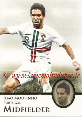 2013 - Futera World Football Unique - N° 048 - Joao MOUTINHO (Portugal) (Midfielder)