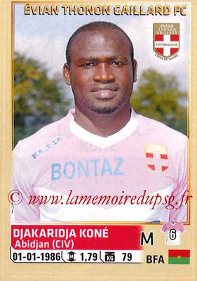 2014-15 - Panini Ligue 1 Stickers - N° 087 - Djakaridja KONE (Evian Thonon Gaillard FC)