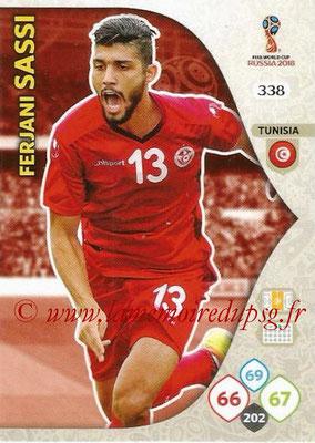 2018 - Panini FIFA World Cup Russia Adrenalyn XL - N° 338 - Ferjani SASSI (Tunisie)