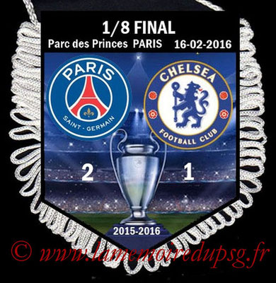 Fanion  PSG-Chelsea  2015-16