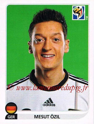 2010 - Panini FIFA World Cup South Africa Stickers - N° 272 - Mesut ÖZIL (Allemagne)