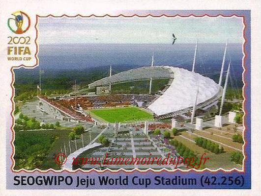 2002 - Panini FIFA World Cup Stickers - N° 012 - Stade Seogwipo (Jeju World Cup Stadium)