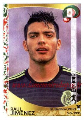 Panini Copa America Centenario USA 2016 Stickers - N° 229 - Raul JIMENEZ (Mexique)