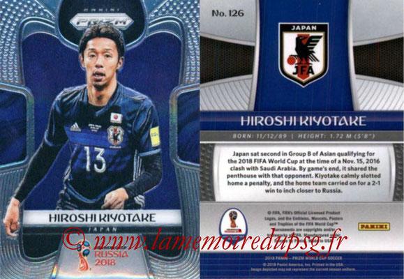 2018 - Panini Prizm FIFA World Cup Russia - N° 126 - Hiroshi KIYOTAKE (Japon)