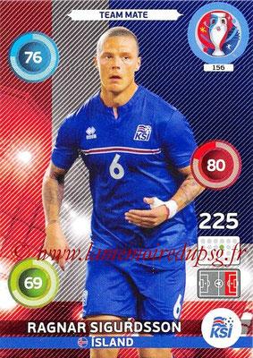 Panini Euro 2016 Cards - N° 156 - Ragnar SIGURDSSON (Islande)