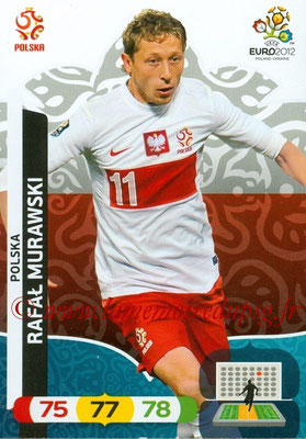Panini Euro 2012 Cards Adrenalyn XL - N° 157 - Rafal MURAWSKI (Pologne)