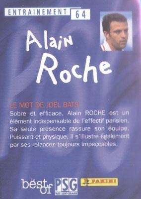 N° 064 - Alain ROCHE (Verso)