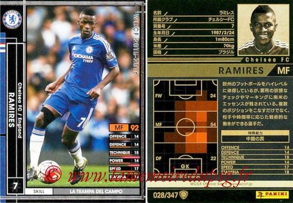 2015-16 - Panini WCCF - N° 028 - RAMIRES (Chelsea FC)