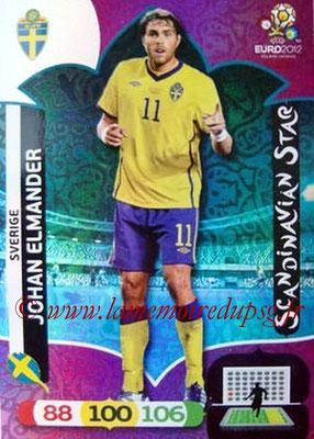 Panini Euro 2012 Cards Adrenalyn XL - N° 313 - Johan ELMANDER (Suède) (Scandinavian Star) (Nordic Edition)