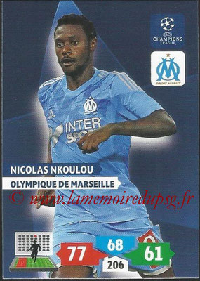2013-14 - Adrenalyn XL champions League N° 209 - Nicolas NKOULOU (Olympique de Marseille)