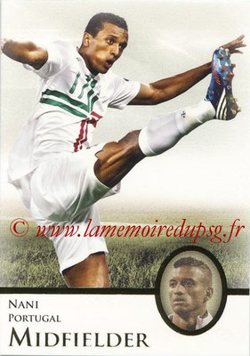 2013 - Futera World Football Unique - N° 050 - NANI (Portugal) (Midfielder)