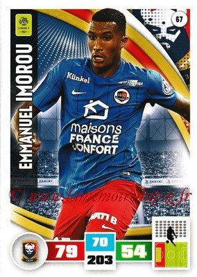 2016-17 - Panini Adrenalyn XL Ligue 1 - N° 067 - Emmanuel IMOROU (Caen)