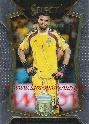 2015 - Panini Select Soccer - N° 066 - Sergio ROMERO (Argentine)