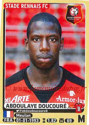 2015-16 - Panini Ligue 1 Stickers - N° 400 - Abdoulaye DOUCOURE (Stade Rennais FC)