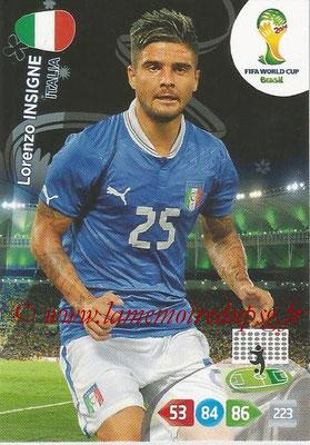 2014 - Panini FIFA World Cup Brazil Adrenalyn XL - N° 222 - Lorenzo INSIGNE (Italie)