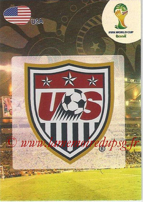 2014 - Panini FIFA World Cup Brazil Adrenalyn XL - N° 316 - Logo Etats-Unis